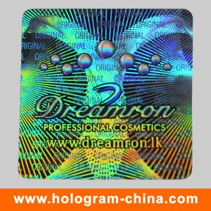 High Quality Custom Pet Security Holographic Label pictures & photos