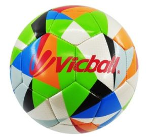 2016 New Design Colorful Promotion Soccer Ball pictures & photos