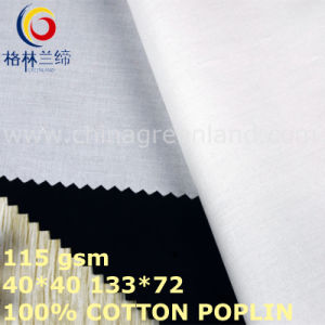 Cotton Poplin Solid Fabric for Clothes Textile (GLLML425) pictures & photos
