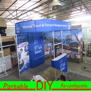 Custom High Grade Fabric Portable Modular Advertising Display for Exhibition pictures & photos