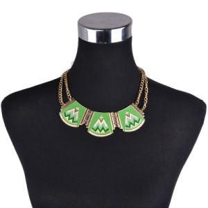 Jewelry Chain Statement Bib Chunky Collar Pendants Necklace