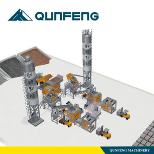 Fully- Automatic Block Production Line Qft10-15 (300) pictures & photos