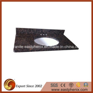 Natural Tan Brown Granite Bath Vanity Tops for Kitchen/Bathroom pictures & photos