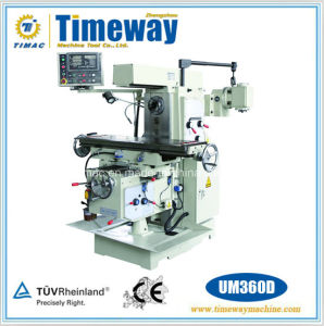 Knee-Type Vertical and Horizontal Spindle Milling Machine with Dro pictures & photos