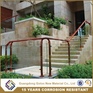 Knock Down Aluminium Glass Stair Railing pictures & photos