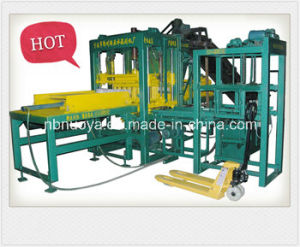 Semi-Automatic Environment-Friendly Pavement Cement Block Machine