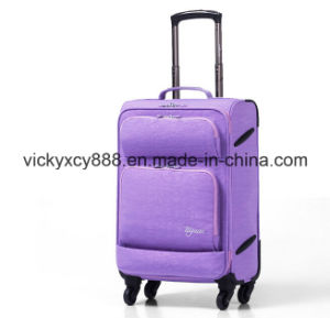 Fashion Women Wheeled Trolley Luggage Travel Boarding Case Bag (CY6856) pictures & photos