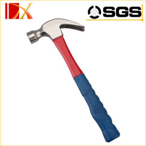 American Type Full Polished Claw Hammer with Fiber Handle