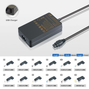 Kfd Universal Power Adapter 45W for Ultrabookultra Slim 1xusb pictures & photos