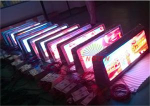 P5mm RGB Car LED Display / Commercial Wireless LED Display pictures & photos