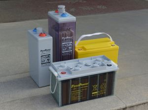 12V PVC Gel Battery (LFPG12200) pictures & photos