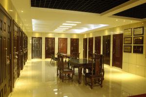 Golden Stainless Steel Door Entrance Door (HEF-020) pictures & photos