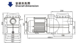Swimming Pool Pump (SMP) with CE Approved pictures & photos
