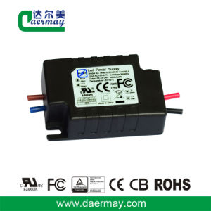 UL Certified LED Power Supply 12W 0.45A Waterproof IP65 pictures & photos