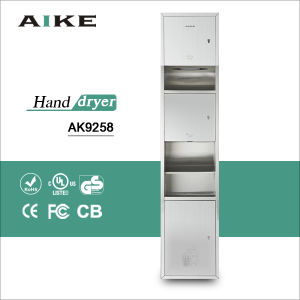 Multi Functional Washroom Combination Towel Hand Dryer Waste Units Bin (AK9258) pictures & photos