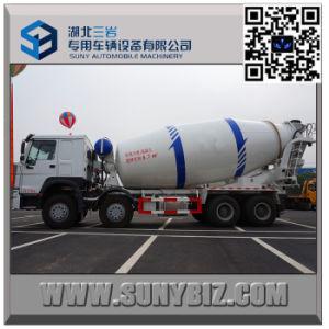 HOWO 12 Wheeler 15 Cubic Meter Concrete Mixer Truck