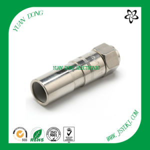 CATV Compression Connector RF Male Coaxial Cable Rg11 Connector pictures & photos