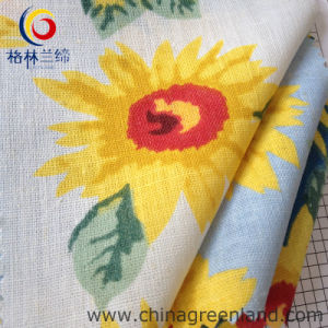 Cotton Linen Printed Woven Fabric for Shirt Garment Textile (GLLML059) pictures & photos