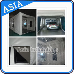 Best Quality Workstation Inflatable Spray Paint Booth for Car pictures & photos