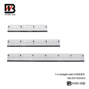 15 20 30cm Straight Flat Plastic Office Stationery Ruler