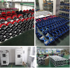 Factory Wholesale Self Balancing Scooter 2 Wheel Hoverboard, 6.5 Inch 2 Wheel Balance Hoverboard pictures & photos