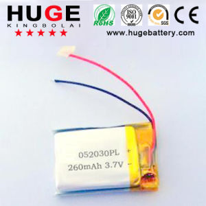 3.7V 260mAh 052030 Lipolymer Battery (052030) pictures & photos