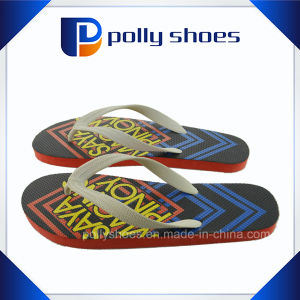 Comfortable Rubber Men Flip Flop with Custom Logo pictures & photos