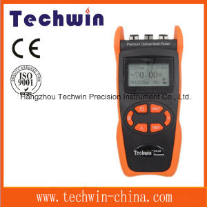 Optical Multi Tester Techwin3305e Optical Source Techwin Fiber Power Meter pictures & photos