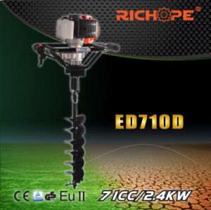 Portable Gasoline Earth Drill (ED710D) pictures & photos