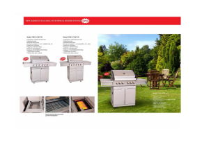 New BBQ Gas Grill with Special Burner System pictures & photos