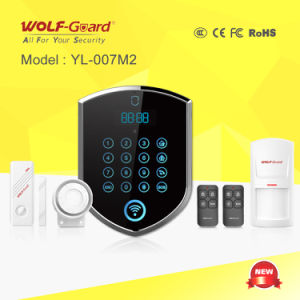 3G WiFi PSTN Burglar Home Alarm with APP, Touch Keypad pictures & photos