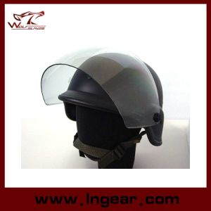 Army Safety Helmet Tactical M88 Helmet with Visor pictures & photos
