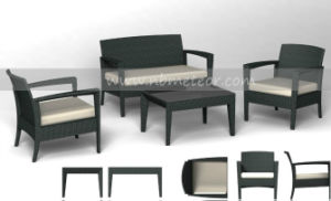 Patio Furniture Outdoor Rattan Kd Set (MTC-046) pictures & photos