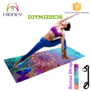 New Arrival Beautiful Printing Yoga Mat Cusmton Printed Yoga Mat pictures & photos