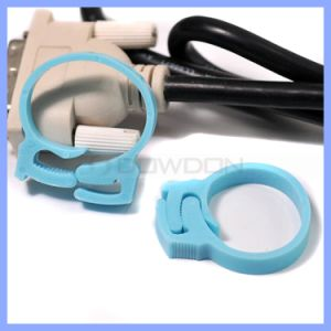 Candy Color Cord Winder Tidy Box Cable Tie Winder Cord Organizer Plastic Cable Winder pictures & photos