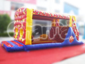 Balloon Tunnel Inflatable Obstacle Outdoor Playground (CHOB204) pictures & photos