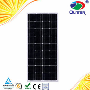 High Efficiency and Low Price Poly Crystalline 100W Solar Panel