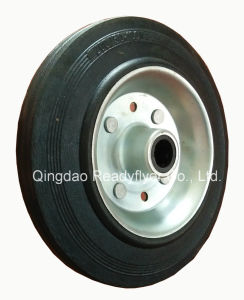 200mm Rubber Wheel pictures & photos