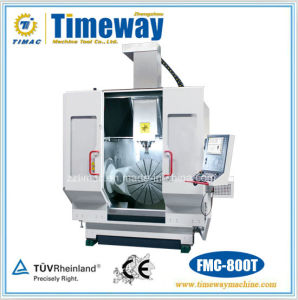 Fmc-800t CNC Vertical Machining Center with Turning pictures & photos