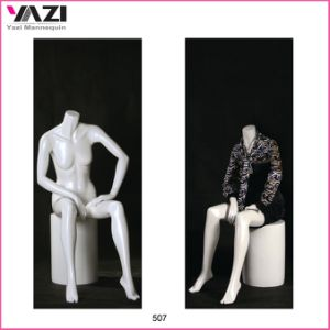 Fiberglass Female Sitting Mannequin for Window Display pictures & photos