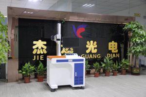 Metal Tube Fiber Laser Marking and Engraving Machine pictures & photos