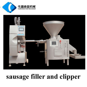 Automatic Sausage Filler and Clipper Machine/Sausage Making Equipment pictures & photos