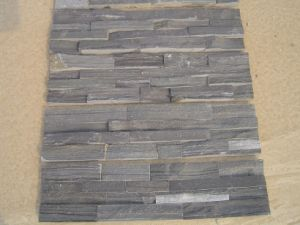 Black Slate Wall Cladding, Slate Wall Panel pictures & photos