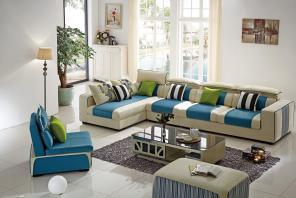 Hot Selling Modern Living Room Fabric Sofa Lb1030 pictures & photos
