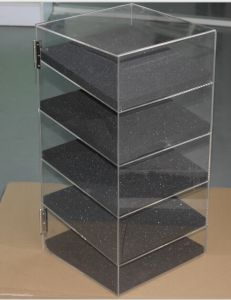"""Acrylic Lucite Showcase Jewelry Pastry Bakery Counter Display W/Door & Lock (12"""" X 6"""" X 19""""H) pictures & photos"""