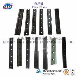 4&6 Holes Railway Fishplate for Steel Rail Connecting (UIC60) pictures & photos