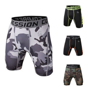 Wholesale MMA Mens Sports Shorts Tights pictures & photos