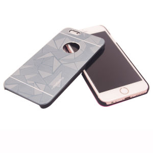 Metal Brushed 2 in 1 PC+Metal for iPhone Case iPhone 7 7plus Samsung J5 J7 LG X Style X Power pictures & photos