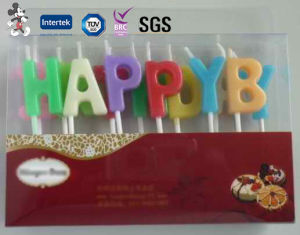 Customized China Professional Produce Smokeless Manufacturer of Birthday Candle pictures & photos