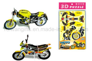Wholesale Motorbike 3D Kids Puzzle Toy for Children Toy pictures & photos